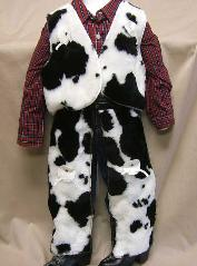 Cowprint Cowboy\Cowgirl Suit - American Made