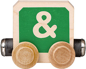 Maple Landmark Timbertoots - Ampersand - American Made