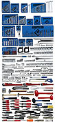 Armstrong 453 Pc. Master Set - Tools Only - Free Shipping