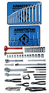 Armstrong 78 Pc. Basic Set - Tools Only- Free Shipping!