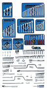 Armstrong 194 Pc. Master Socket and Wrench Set - Tools Only
