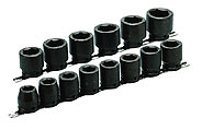 "14 Pc. 6 Point 3/4"" Drive Impact Socket Set"
