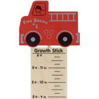 Maple Landmark Growth Sticks - Fire Truck - Made in America