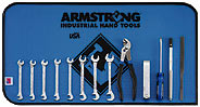 Armstrong13 Pc. Full Polish 15? and 80? Ignition Wrench Set