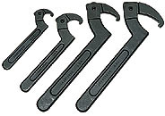 Armstrong Tools 4 Pc. Hook Spanner Set - American Made