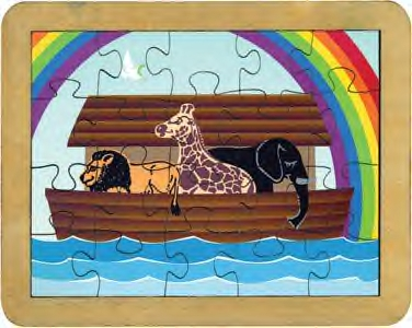 Maple Landmark  Noah's Ark Puzzle American Made
