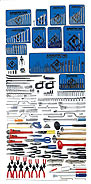Armstrong 355 Pc. Metric Master Set - Tools Only