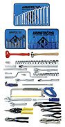 Armstrong 99 Pc. Metric Basic Set - Tools Only- Free Shipping!