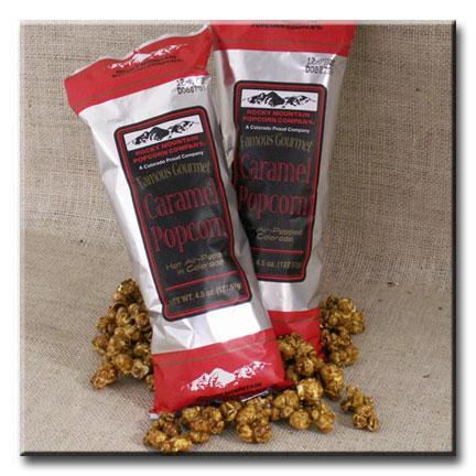 12 bags of 4.5 oz. Caramel Popcorn - American Made