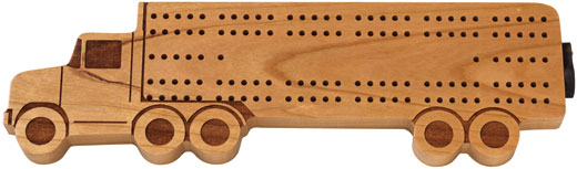 Maple Landmark Cribbage - Truck