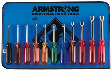 Armstrong 11 Pc. Nut Driver Set - American Made