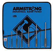 Armstrong Tools 7 Pc. Roll Pin Punch Set