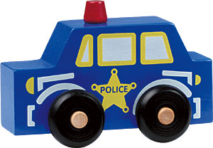 Maple Landmark Scoots - Police Car Toy