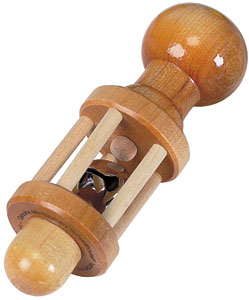 Maple Landmark Rattle Made in America - Standard Natural Bell