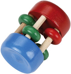 Maple Landmark Rattle Boxed - Mini Spin - American Made