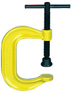 "Armstrong Deep Throat Pattern, safety yellow paint 4"" - 12"" opening"