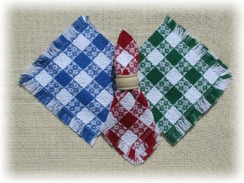 "Tavern Check Napkins - 18"" x18"" - Made in USA"