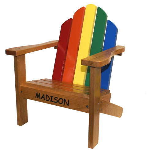 Toddler Toys Adirondack Chair - American Made