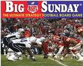 "Big Sunday Strategy Football Board Game - <FONT FACE=""Times New Roman"" SIZE=""+1"" COLOR=""#FF0000""> On Sale Now! </font>-"