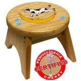 "Holgate Toys American Made Step Stool  ""Cow Jumped Over The Moon"""