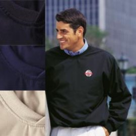 Men's Poplin Golf Pullover - Finley - Made in America