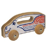 Holgate Toys Handeez Mail Truck - Made in USA