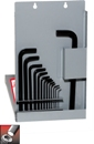 Eklind&#174 Hex-L&#174 Hex Key Set, Long Series, 17 keys: .035 to 5/8 Inch & Metal Box