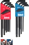 Eklind Tool Company&#174 Ball-Hex-L&#8482 Hex Key, 22 key Combo Pack - American Made
