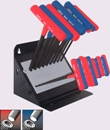 Eklind&#174 Power-T&#8482 T-Handle Hex Key, 19 key Combo Pack
