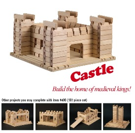 Stack & Stick Story Book Castle - American Made