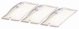 BroilKing PLASTIC LID FOR SPL-3 - CLEAR - SET OF 3 - American Made