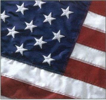 U.S Flag - Outdoors - Perma- Nyl (100% Nylon) II 12'x18' - American Made