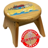 Holgate Noah's Ark Stool Made in America