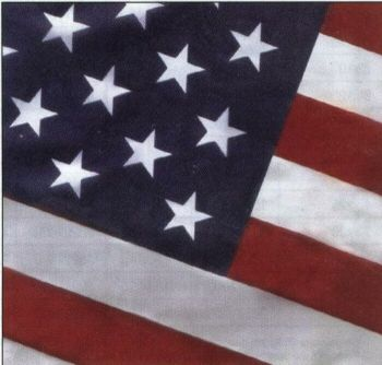 U.S Flag - Outdoors - Koraflex II (100% Polyester) 30'x50'- American Made  - Free Shipping!