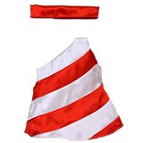 Candy Cane Dress - American Made