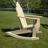 Adult Americna Made Adirondack Rocker