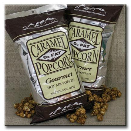 12 bags of 9 oz. Caramel Popcorn
