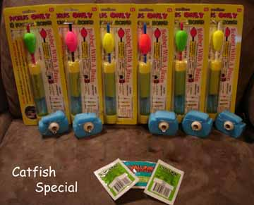 Catfish Fisherman's Bobber Package - Made in USA