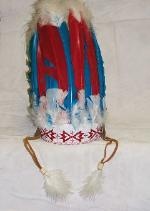 9 Feather w/ Feather Drops Headress