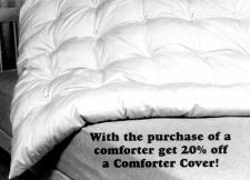Twin Size, Regular Weight Organic Cotton Comforter