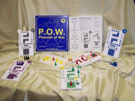 P.O.W Prisoner of War Board Game Made in USA