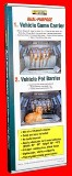 Vehicle Pet Barrier/Game Carrier Made in USA
