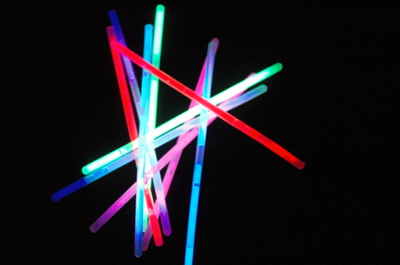 Set of 3 - 10 Pack Glowsticks - Made in America