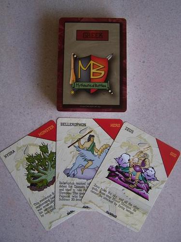 Celtic/Greek Educational Double Deck Card Game Set
