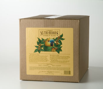 Lafeber Nutri-Berries for Parrots 20 lb.