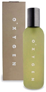 O<sub>2</sub>XYGEN Eau de Toilette for Men <br>3.4 oz. Bottle - Made in America