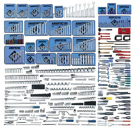 761 Pc. Master Set with Industrial Series Box - Free Shipping!