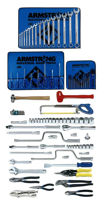 Armstrong 96 Pc. Basic Set - Tools Only- Free Shipping!