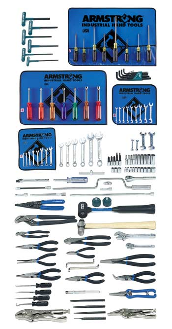 Armstrong 131 Pc. Small Set - Tools Only- Free Shipping!