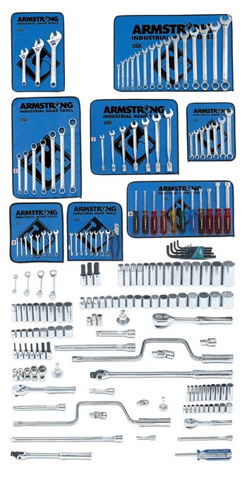 194 Pc. Master Socket/Wrench Set - with Indust Series Box - Free Shipping!